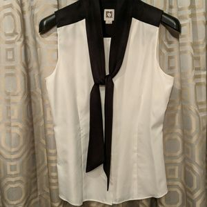 Anne Klein silky blouse